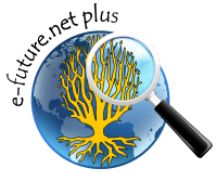 "Logo projektu ""e-future.net plus"""